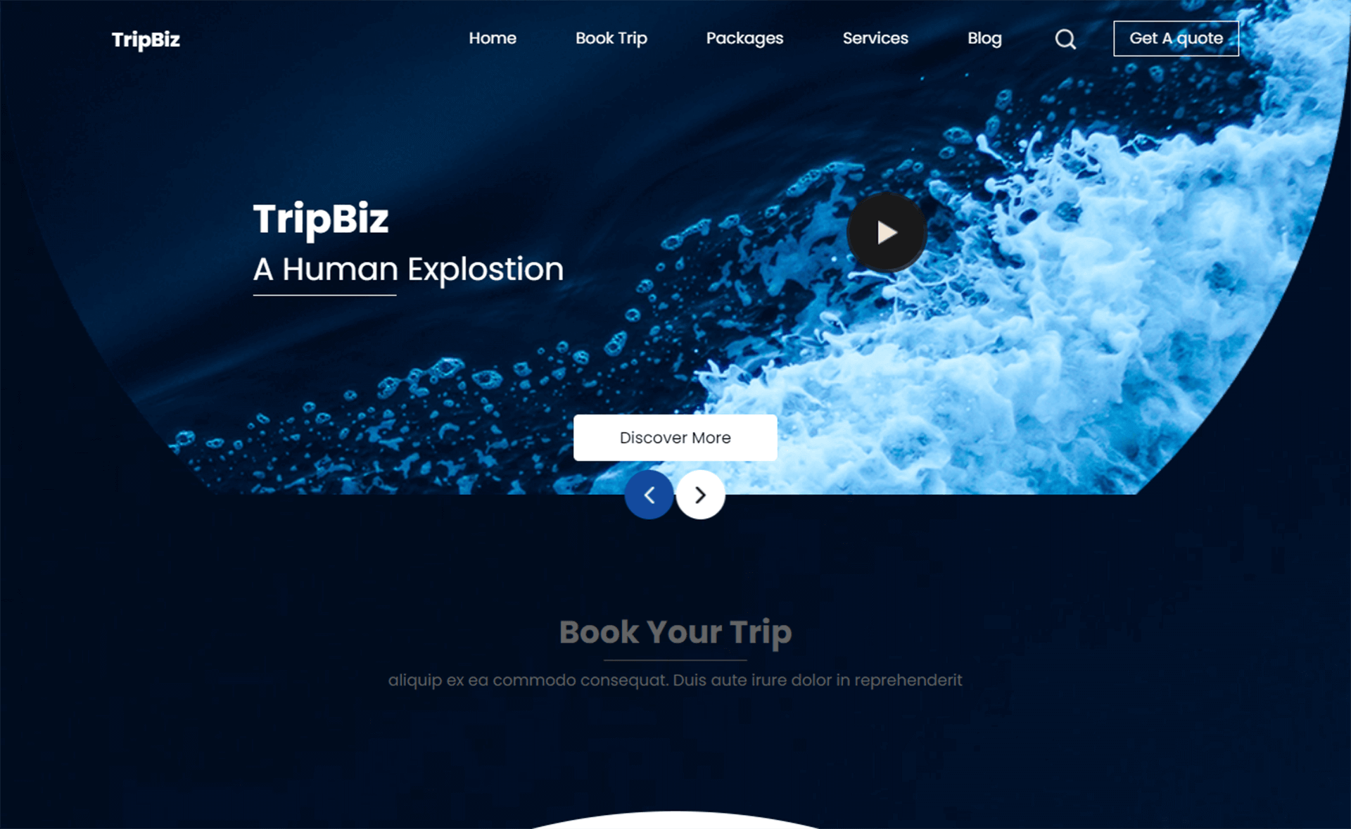 Free Bootstrap 4 HTML5 Travel & Tourism Website Template